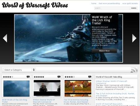 Warcraft Videos Live