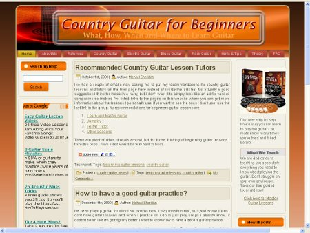 Country Guitar Lesson