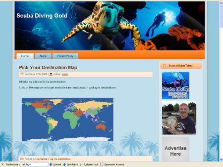 Scuba Diving Gold Website